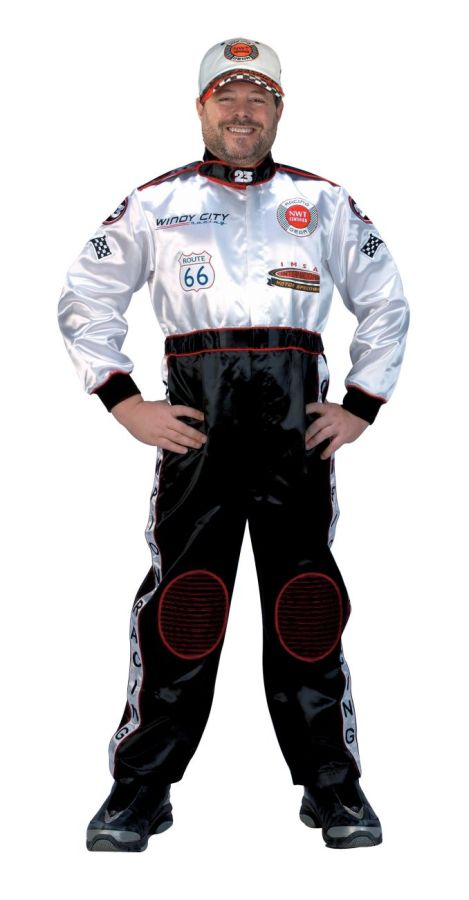 Adult Racing Suit Costume Race Car Driver Costumes. Regular: $105.99