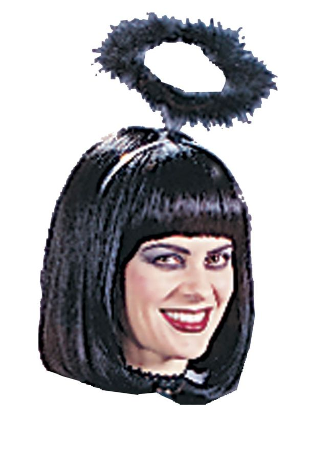 Adult Black Angel Halo Angel Costume Accessories. Regular: $4.99