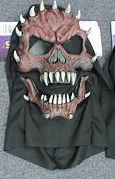 Adult Moving Jaw Evil Demon Mask Scary Halloween Masks. Regular: $9.99
